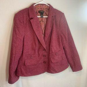 Lane Bryant blazer jacket